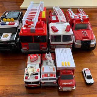 消防車&パトカー&救急車セット