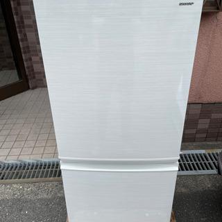 2018年製シャープ140ℓノンフロン冷凍冷蔵庫