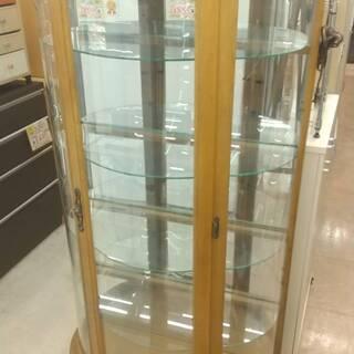 アンティーク ガラス ショーケース ガラスケース コレクシ…