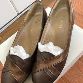 高齢女性に人気の靴(たびらく)23.5センチ4E