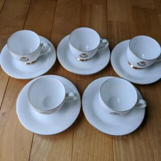 コーヒーカップ GEORGE  CINQ 5セット