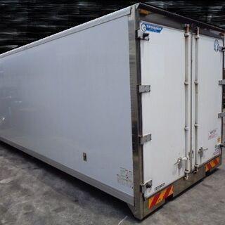 トラックコンテナ 箱 4t 6500x2460x2520 冷凍冷...