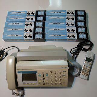 NTT FAX付電話 P-721ND(親機+子機1台)、インクリ...