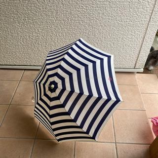 マリンボーダー 日傘