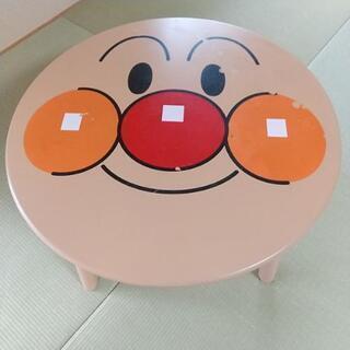 中古 アンパンマン顔テーブル