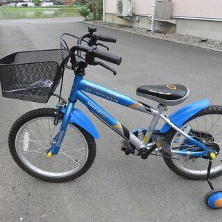 【受付中】子供用自転車 18インチ 補助輪・スタンド付き