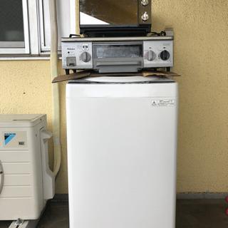 【ネット決済】洗濯機、ガスコンロ、オーブンセット
