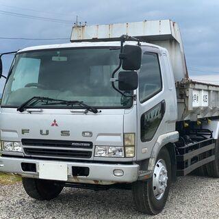 三菱 ファイター 増トン ダンプ FQ61FK 平成14年式 コ...