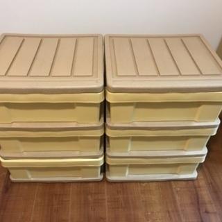 衣装ケース 3段ボックス 2個セット