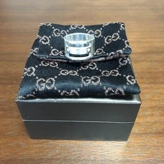 GUCCI リング グッチ 指輪 ケース付き サイズ9号