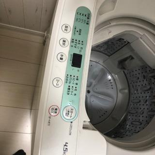 2018年式  美品  洗濯機  4.5㌔