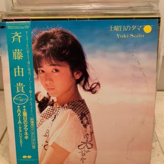 ジャンク LP レコード 斉藤由貴 その他50枚(少々増え…