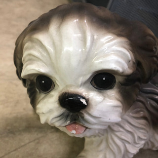 犬 可愛い 小さめ 置き物 🌈しげん屋 - 家電