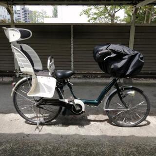 ☆3人乗り対応 アシスト自転車・チャイルドシート & 充電器 &...