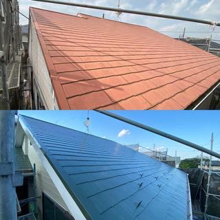 屋根・外壁の塗装お安くできます!!