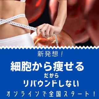 細胞から痩せる!細胞脂肪に直接アプローチするからリバウンドなし!