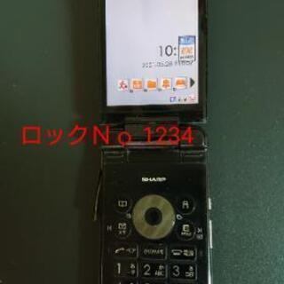 【ネット決済・配送可】【中古】au KDDI ワンセグ携帯 W5...