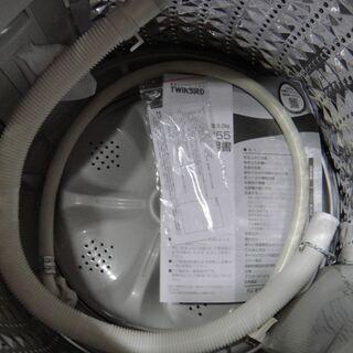今だけチャンス!「ジモティー」見たよ!で通常特価21,978円より2,000円引きの19,978円!  2020年製 ツインバード全自動洗濯機WM-EC55 5.5㎏  - 売ります・あげます