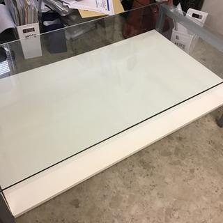 【ネット決済】ガラス机