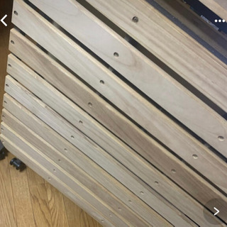 【ネット決済】折り畳みベッド シングル
