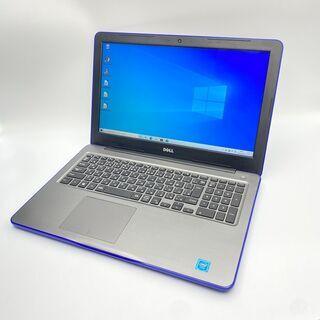 起動高速SSD 人気色ブルー メモリ8GB DELL ノートパソコン