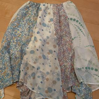 お花 スカート