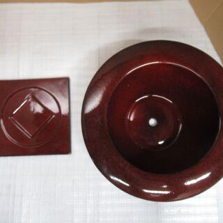 美品 未使用品 陶器 植木鉢 ミニ盆栽鉢 受け皿セット 2.1㎏...