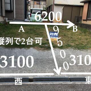 高知市竹島町貸駐車場月額5,000円 AorB 縦列で2台駐車可能!