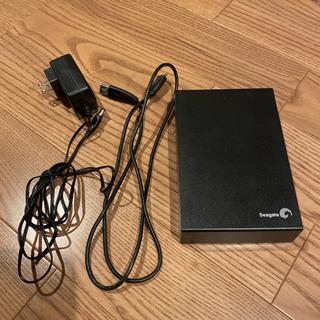 【ネット決済・配送可】外付けハードディスク 2TB