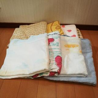 ❪決定❫バスタオル8枚 ペット、介護、雑巾に