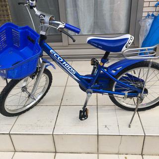 【ネット決済】子供用自転車 18インチ ブリヂストン エコキッズ...