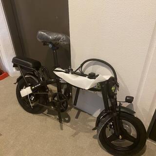 【ネット決済・配送可】二人乗り フル電動自転車 速度35kmh ...