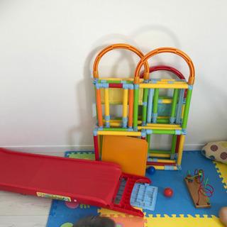【ネット決済】キッズ 子供 ジャングルジム 滑り台