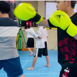 埼玉県春日部市キックボクシング キッズクラス