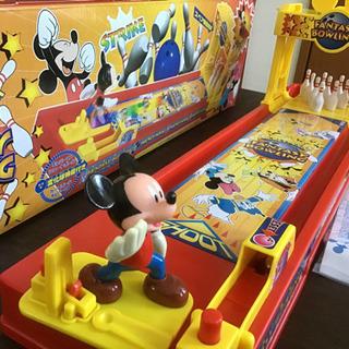おもちゃ 2台セット ミッキー ペコちゃん