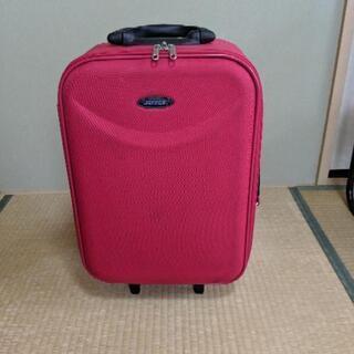 赤い旅行カバン【値下げ】