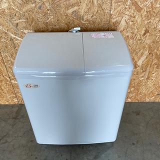 日立二層式 洗濯機  PS-H45L型 2014年製