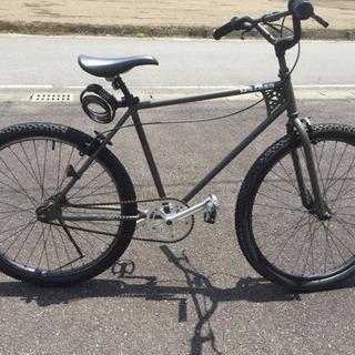 自転車 26 BMX クルーザー OD色