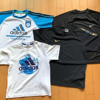 ジュニア用 XS•Sサイズ ナイキ、アディダス  ドライTシャツ