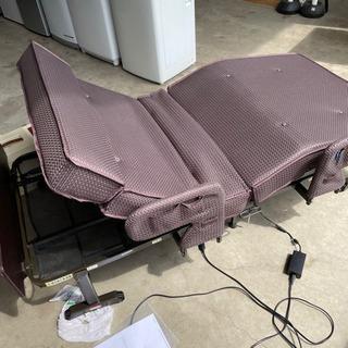 【商談中】ATEX 収納式電動リクライニングベッド Wファンクションの画像