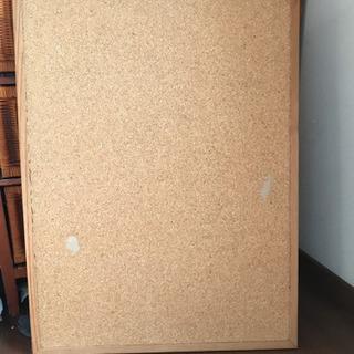 大判コルクボード 約80x60cm