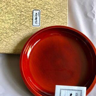 春慶塗の菓子器