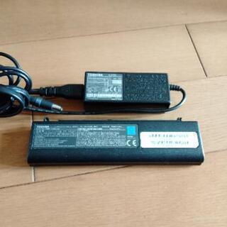 AC電源 東芝 TOSHIBA モバイル バッテリー
