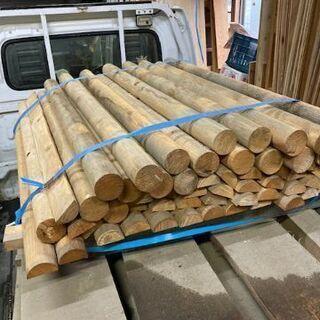 丸棒 加工木材