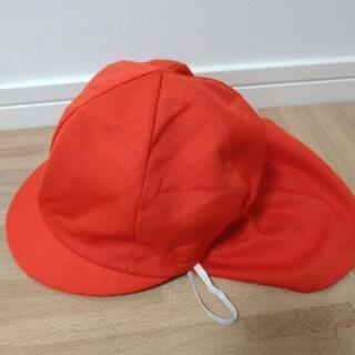 幼児 赤白帽