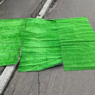 【ネット決済】値下げしました‼︎  人工芝3枚 170cm×90cm