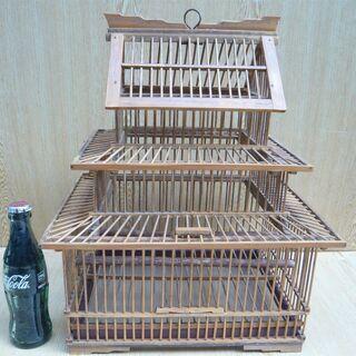 鳥かご 竹製 希少品