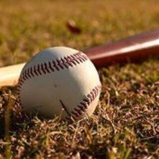 明日5月30日 野球の試合出たい人