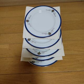 ケーキ皿5枚セット(未使用品)☺️ - 熊本市