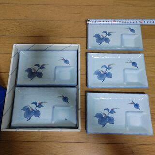 刺し身皿5枚セット(未使用品)☺️ - 熊本市